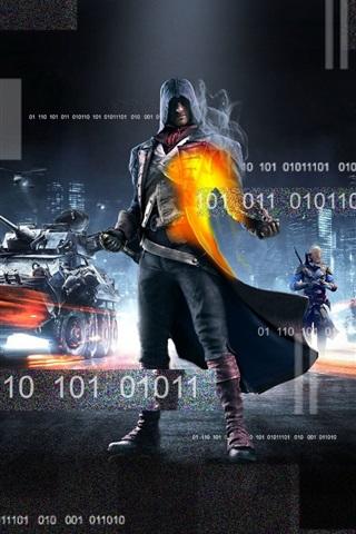 iPhone Papéis de Parede Assassin's Creed e Battlefield 4