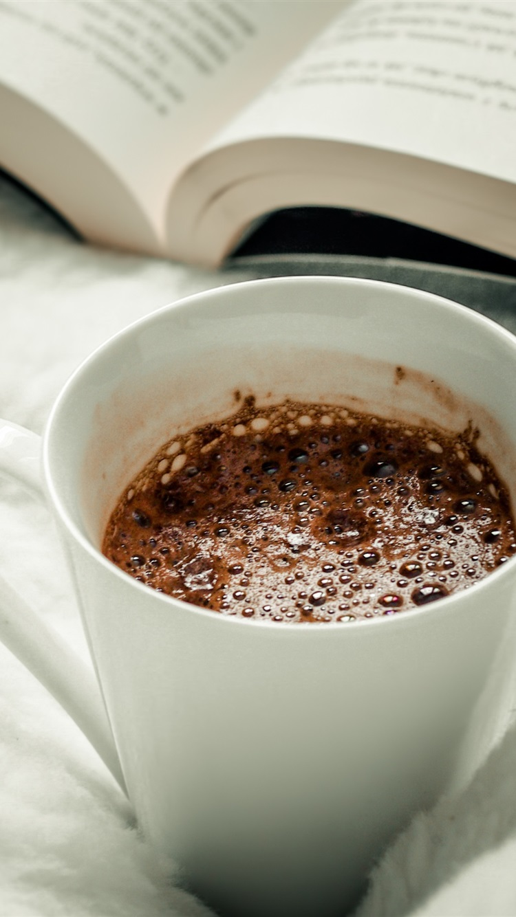 Wallpaper Coffee Mug Book 3840x2160 Uhd 4k Picture Image