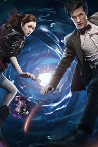 iPhone Wallpaper Doctor Who, TV series HD
