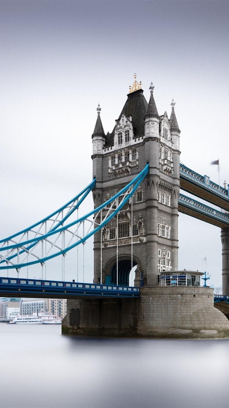 Tower Bridge River London Uk 750x1334 Iphone 8 7 6 6s Wallpaper