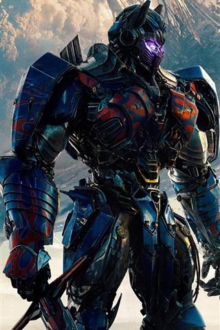 iPhone Hintergrundbilder 2017 Transformers: Der letzte Ritter, Optimus Prime