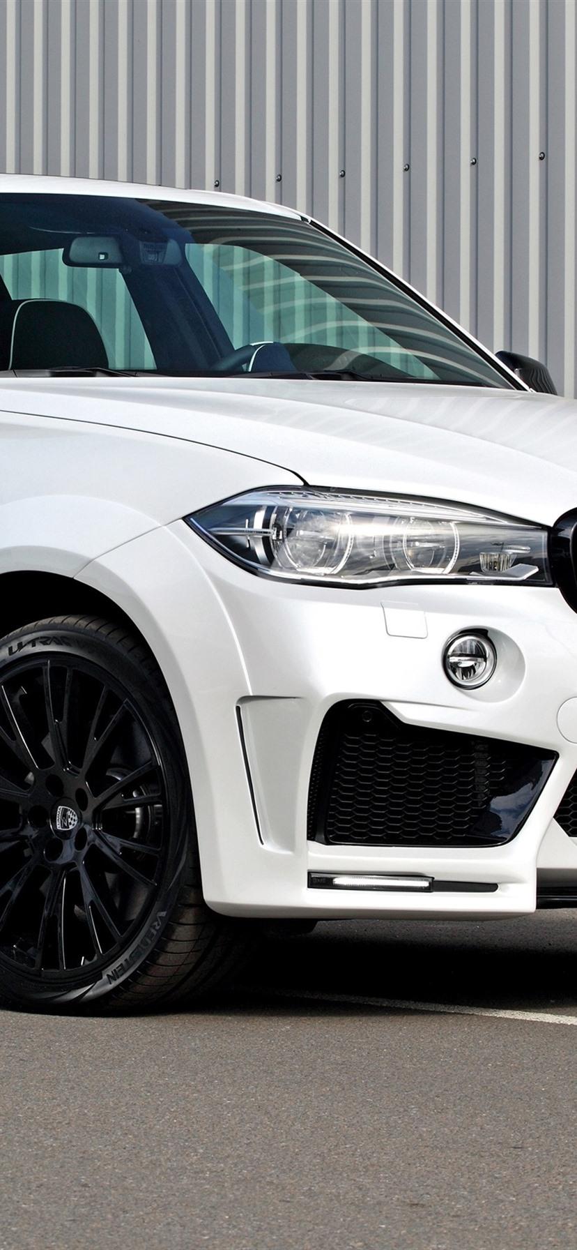 BMW F15 Weies SUV Auto 3840x2160 UHD 4K Hintergrundbilder