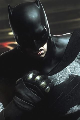 iPhone Wallpaper Batman: The Dark Knight Returns, superhero