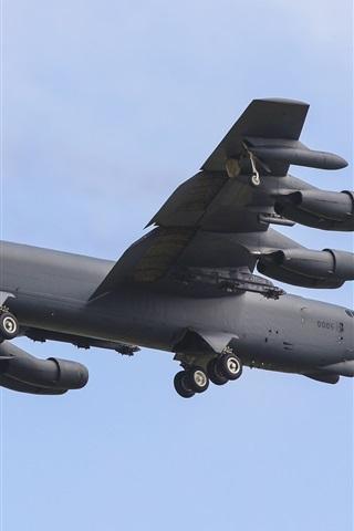 iPhone Wallpaper Boeing B-52H bomber