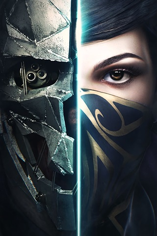 iPhone Wallpaper Dishonored 2