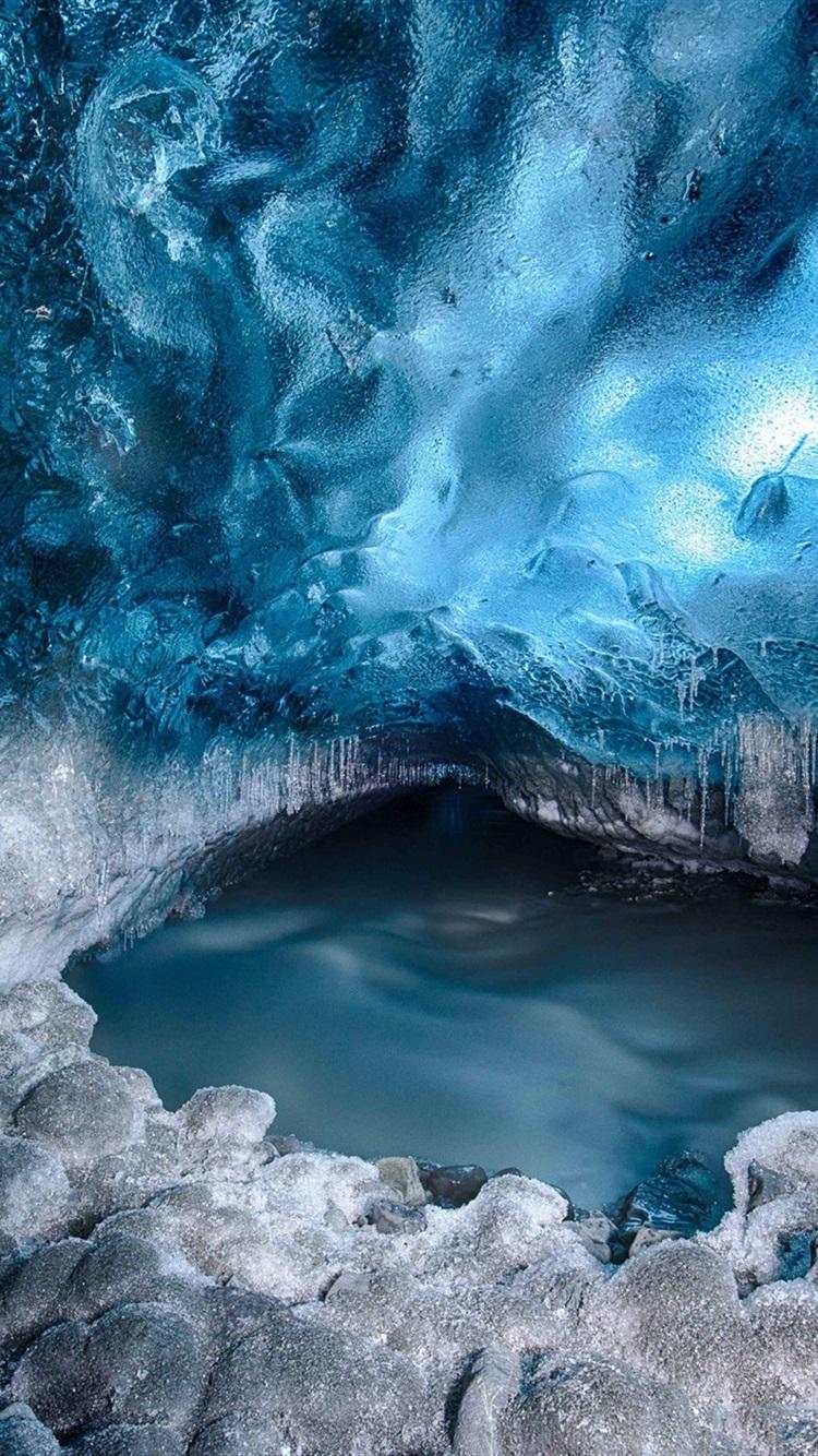 氷河 雪 氷 水 750x1334 Iphone 8 7 6 6s 壁紙 背景 画像