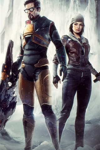 iPhone Wallpaper Half-life 2, PC games