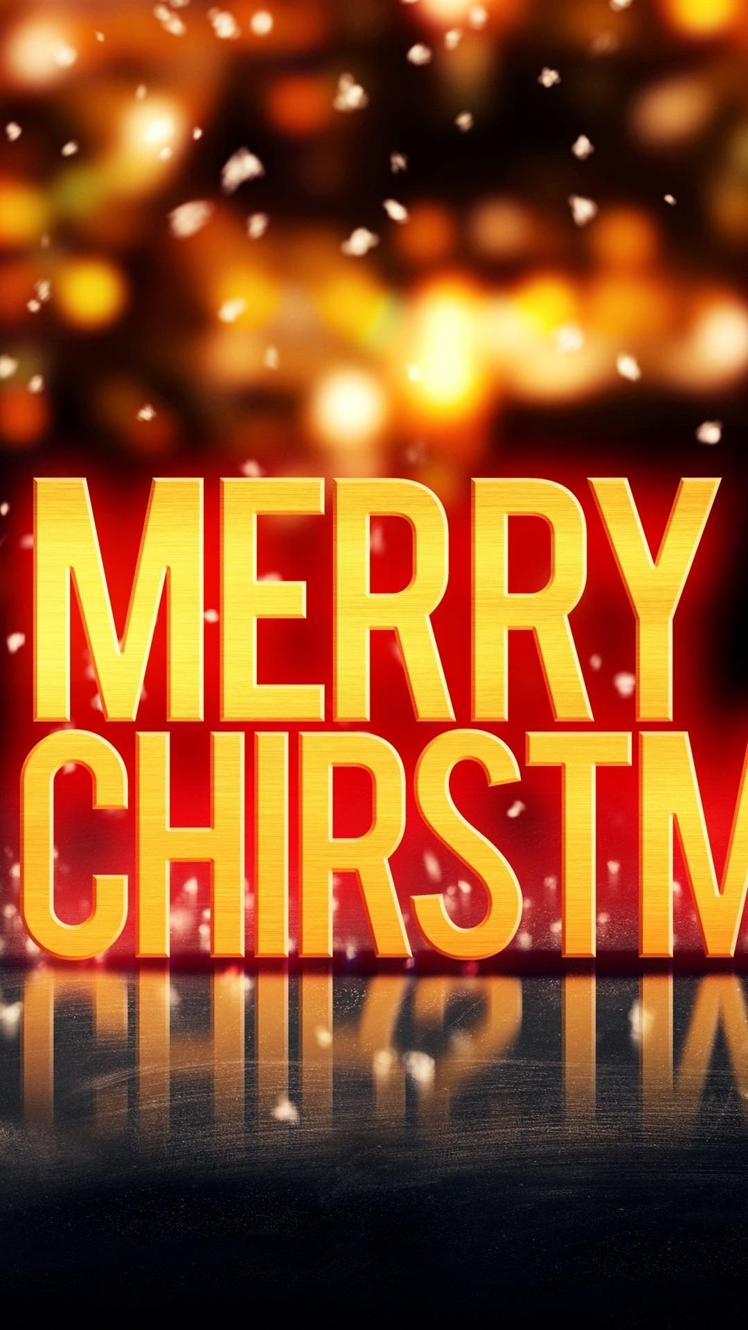 Frohe Weihnachten Und Happy New Year.Frohe Weihnachten Happy New Year Bälle Blendung Hintergrund
