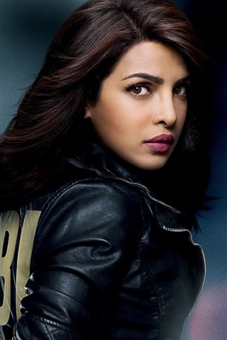 iPhone Wallpaper Priyanka Chopra, FBI TV series
