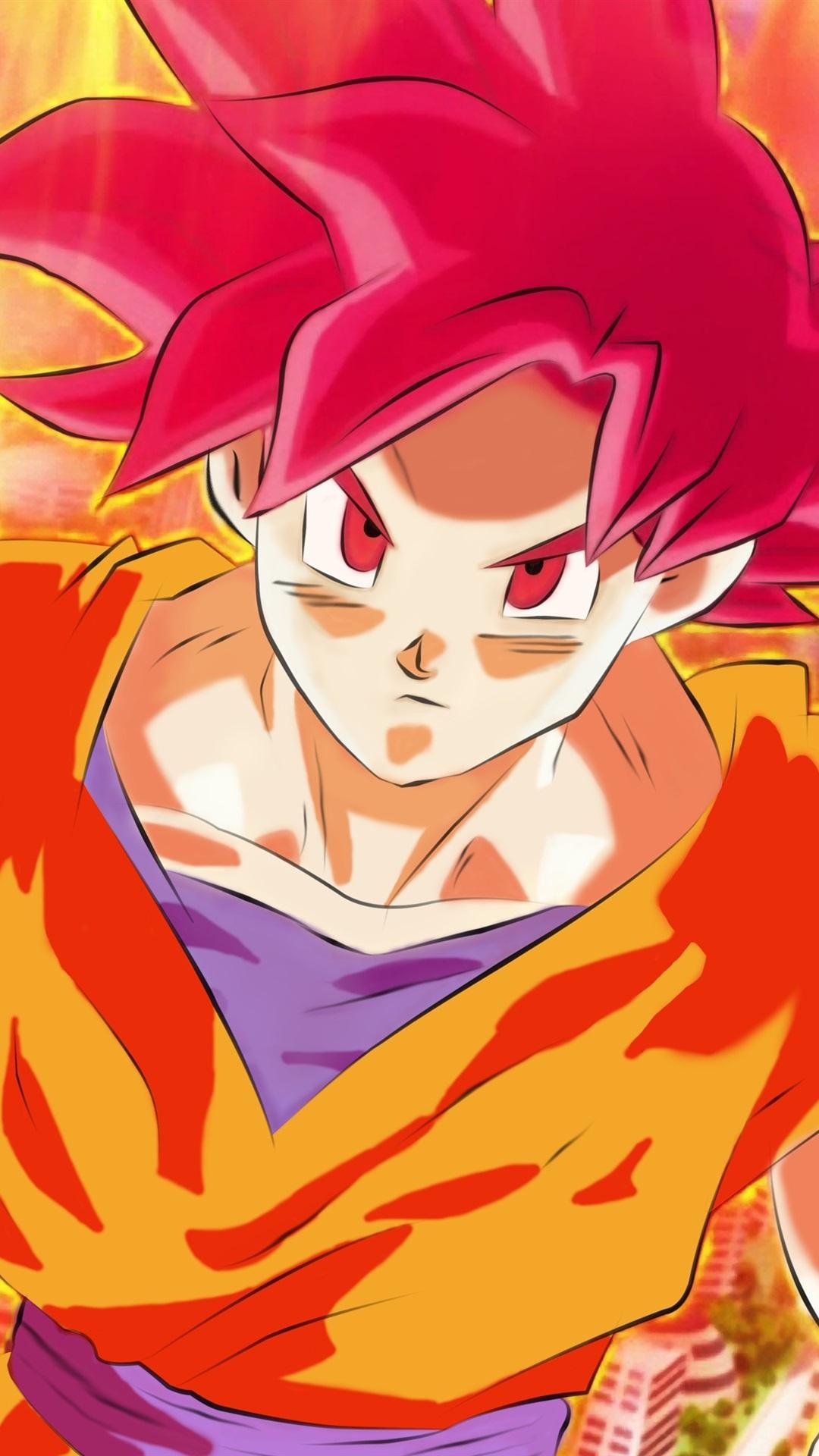 Dragon Ball Z Super Saiyan Monkey 1080x1920 Iphone 8 7 6