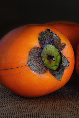 iPhone Papéis de Parede Fruta, macro, fotografia, caqui, pomegranate