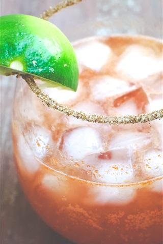 iPhone Wallpaper Michelada Cocktail, drinks