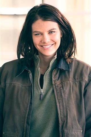 iPhone Wallpaper The Walking Dead TV series, Lauren Cohan