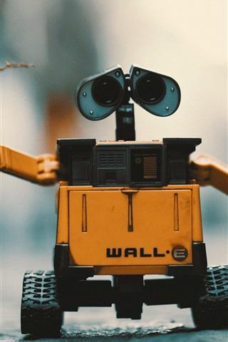 iPhone Wallpaper WALL-E robot