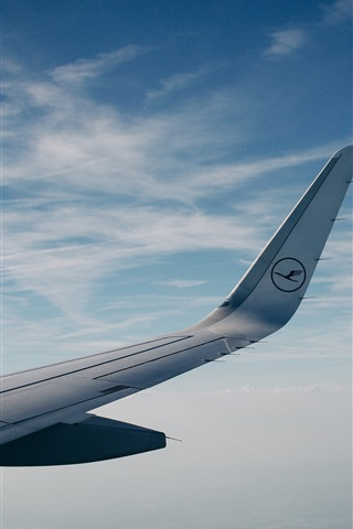 iPhone Wallpaper Aircraft wing