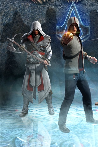 iPhone Wallpaper Assassin's Creed, classic games