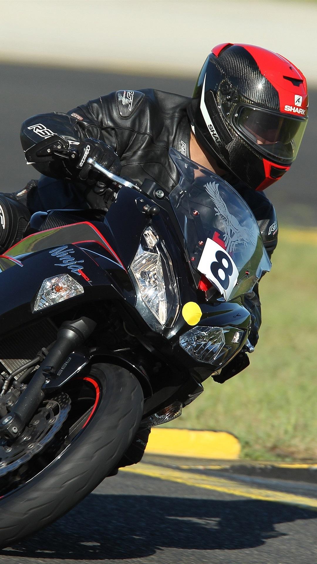 Fonds D Ecran Course De Motos Kawasaki 3840x2160 Uhd 4k Image
