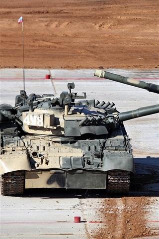 iPhone Wallpaper Russian T-80 tanks