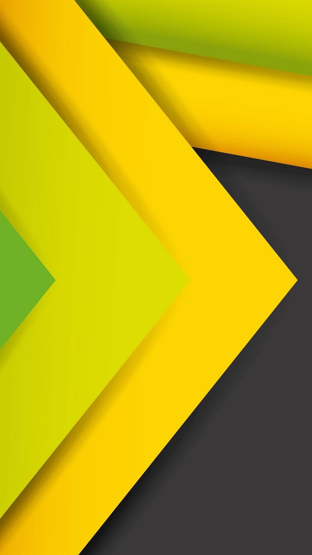 Abstrakte Linien Streifen Gelb Und Grun 3840x2160 Uhd 4k