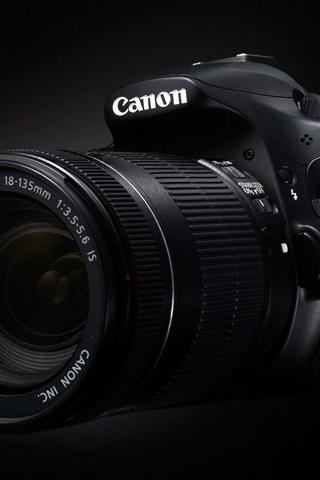 iPhone Papéis de Parede Canon EOS 60D câmara digital