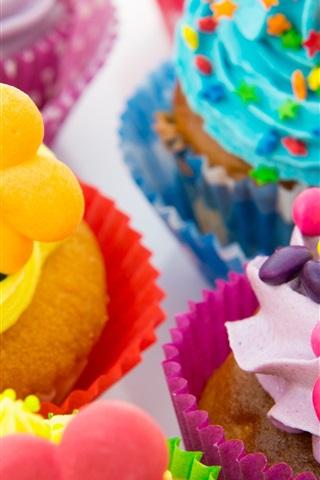 Colorful Cakes Cream 1080x1920 Iphone 8 7 6 6s Plus