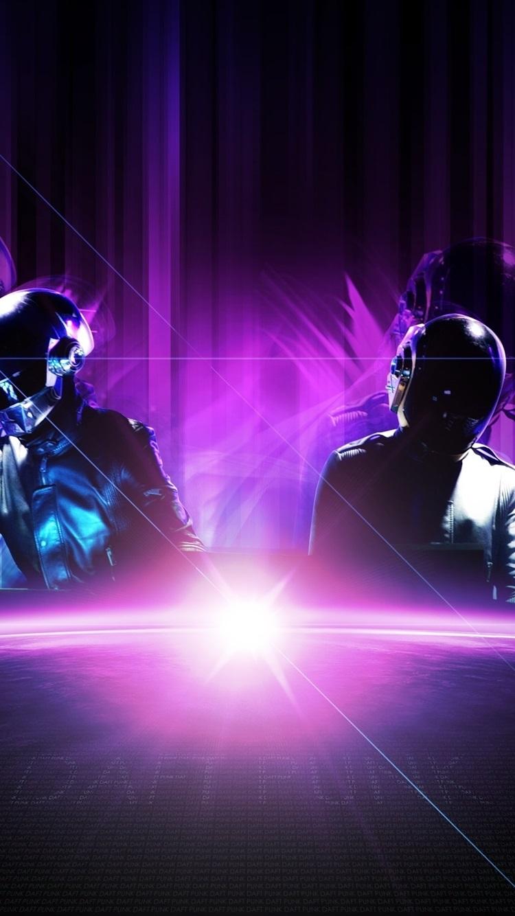 Daft Punk Music Band 750x1334 Iphone 8766s Wallpaper