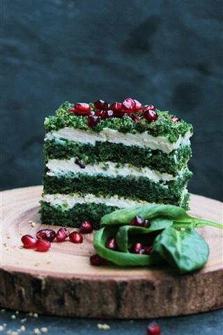 iPhone Wallpaper Dessert, cake, drinks