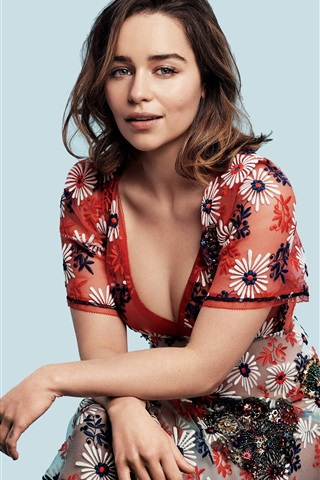 iPhone Wallpaper Emilia Clarke 05