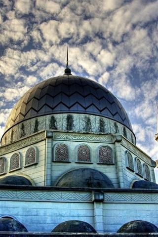 Islam Mezquita Edificios Nubes Cielo 750x1334 Iphone 87