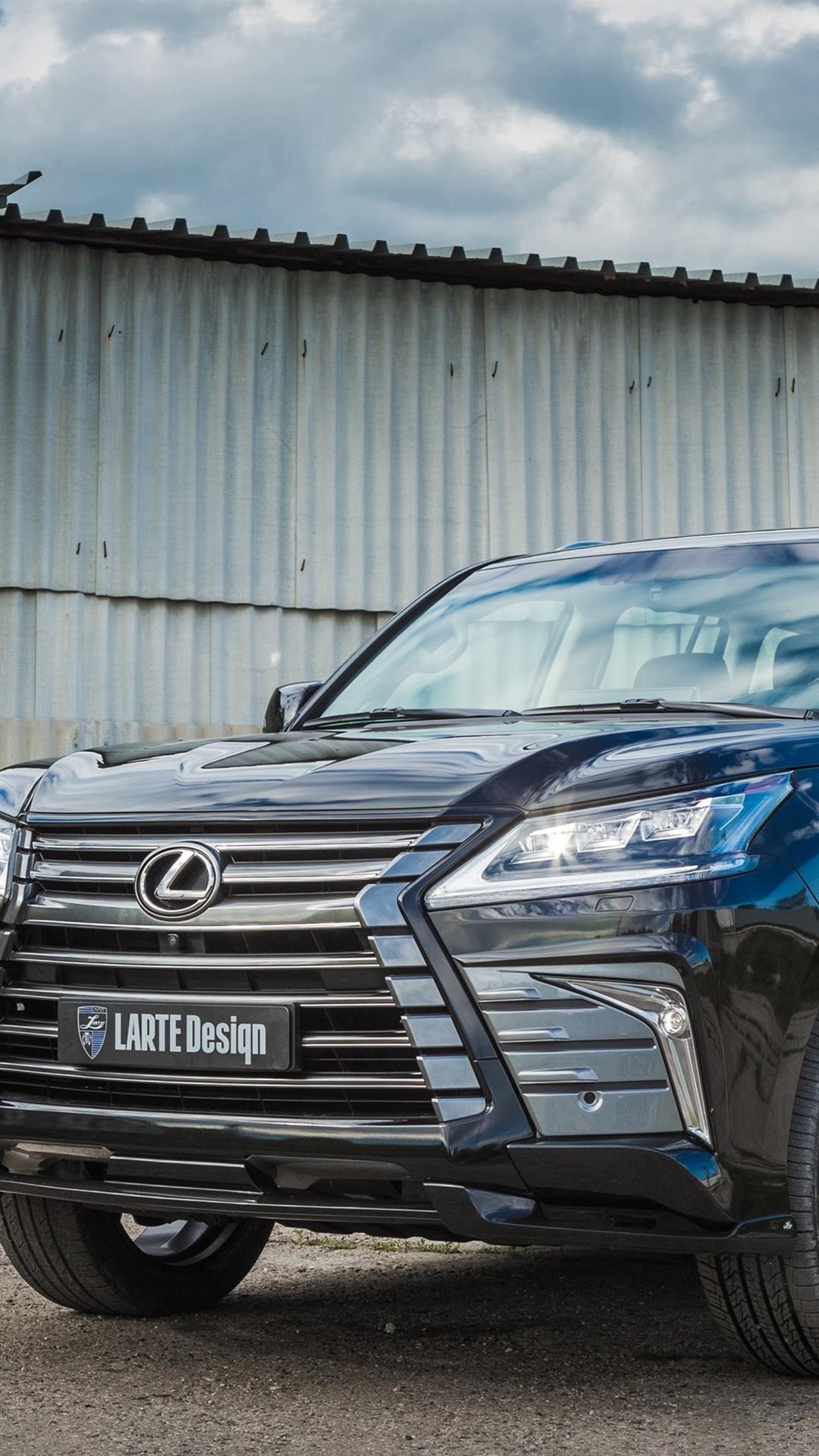 Lexus Lx 570 Black Suv Car 1080x1920 Iphone 8 7 6 6s Plus