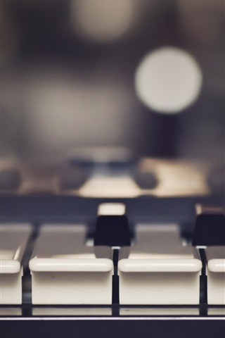 Wallpaper Piano Music Keys Close Up 1920x1200 Hd Picture Image