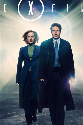iPhone Wallpaper The X Files