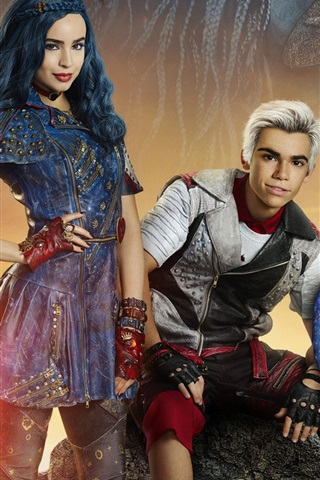 iPhone Wallpaper 2017 movie, Descendants 2