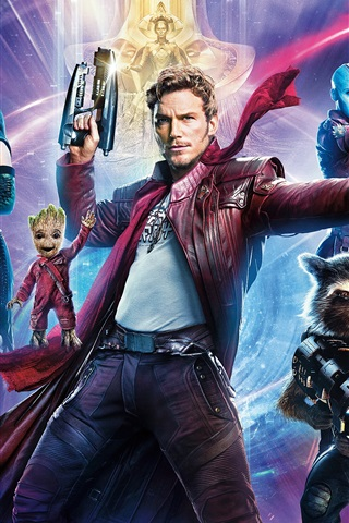 iPhone Wallpaper 2017 movie HD, Guardians of the Galaxy Vol. 2