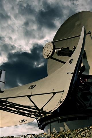 iPhone Wallpaper Airbase, Radar, signal