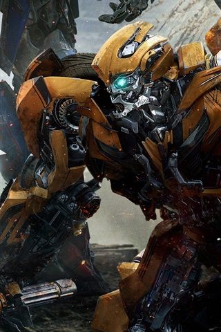 iPhone Hintergrundbilder Bumblebee, Transformers 2017