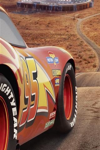 iPhone Wallpaper Cars 3, Disney movie 2017