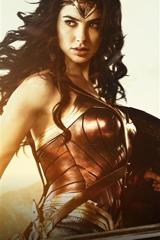iPhone Wallpaper Gal Gadot, 2017 Wonder Woman