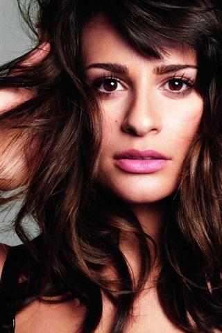 iPhone Wallpaper Lea Michele 02