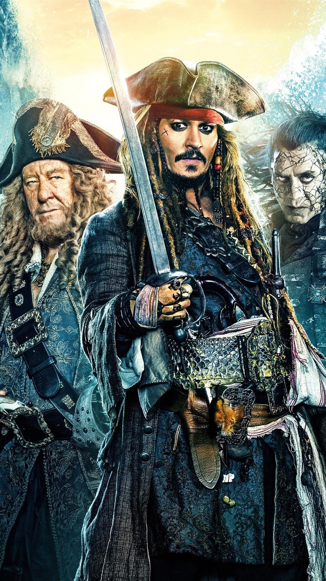 Pirates Of The Caribbean Dead Men Tell No Tales 1080x1920