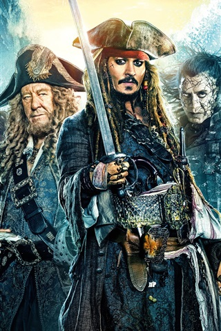 iPhone Wallpaper Pirates of the Caribbean: Dead Men Tell No Tales