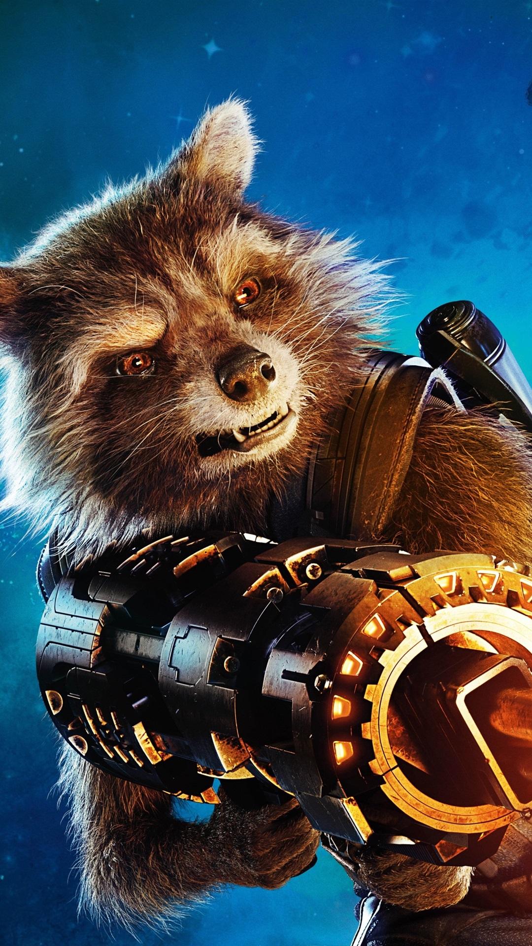 Fonds d 39 cran rocket raccoon guardians of the galaxy vol - Rocket raccoon phone wallpaper ...