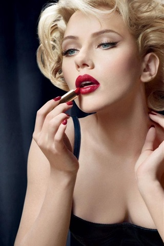 Scarlett Johansson 31 640x1136 Iphone 55s5cse Fondos De