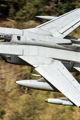 iPhone Wallpaper Tornado GR4 aircraft flight