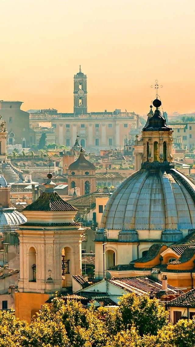 Fondos De Pantalla Viaje A Roma Casas Ciudad Italia