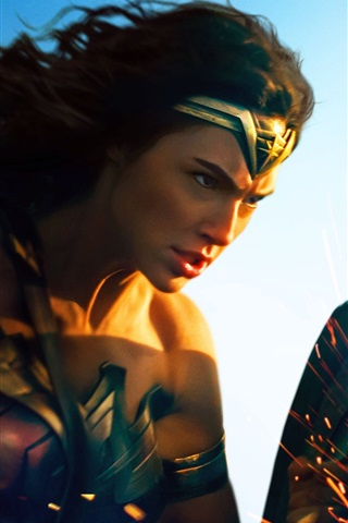 iPhone Wallpaper Wonder Woman, DC Comics