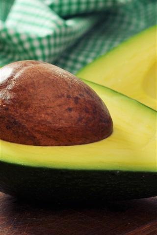 iPhone Wallpaper Avocado, fruit photography