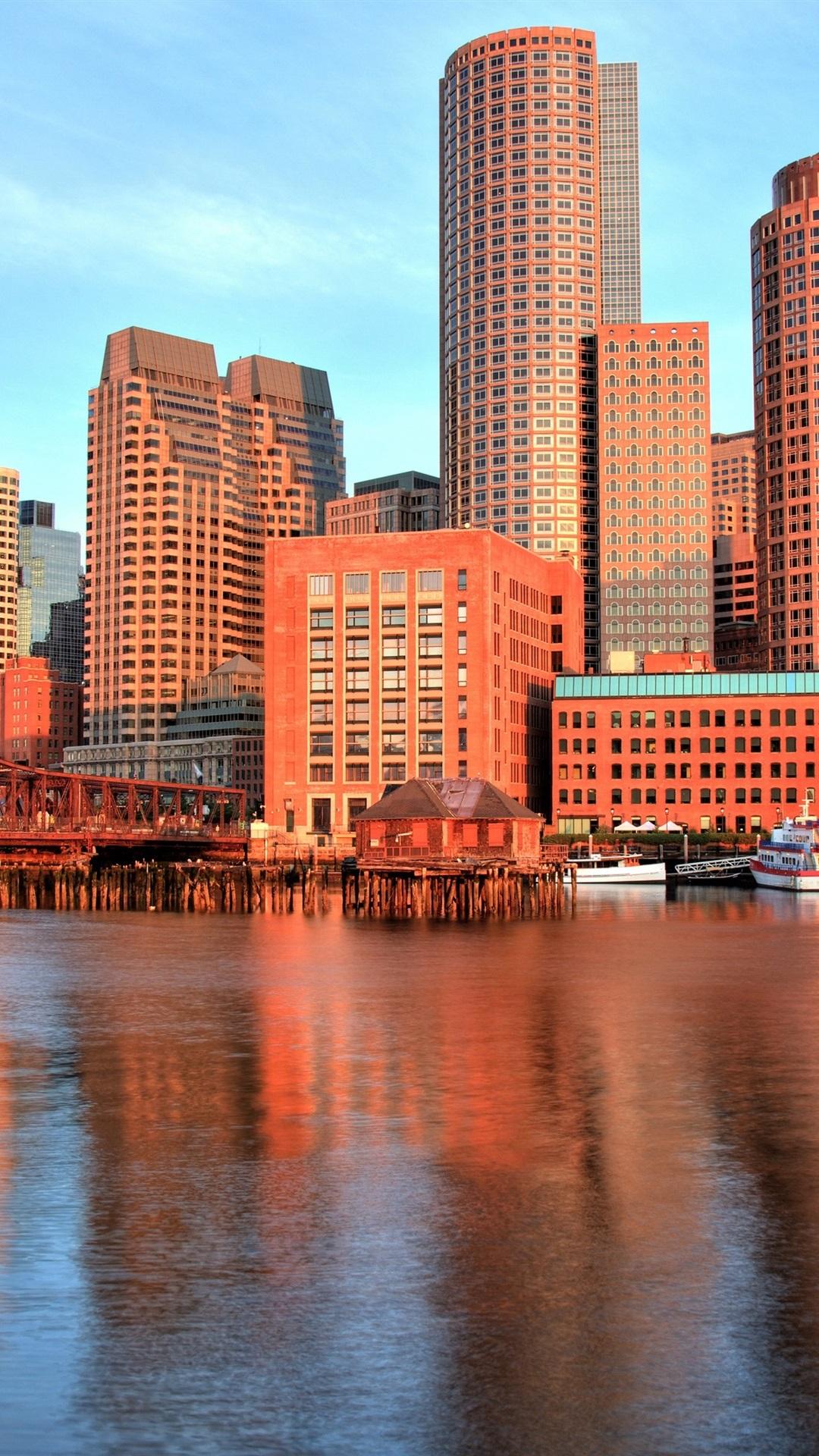 Wallpaper Boston, Massachusetts, USA
