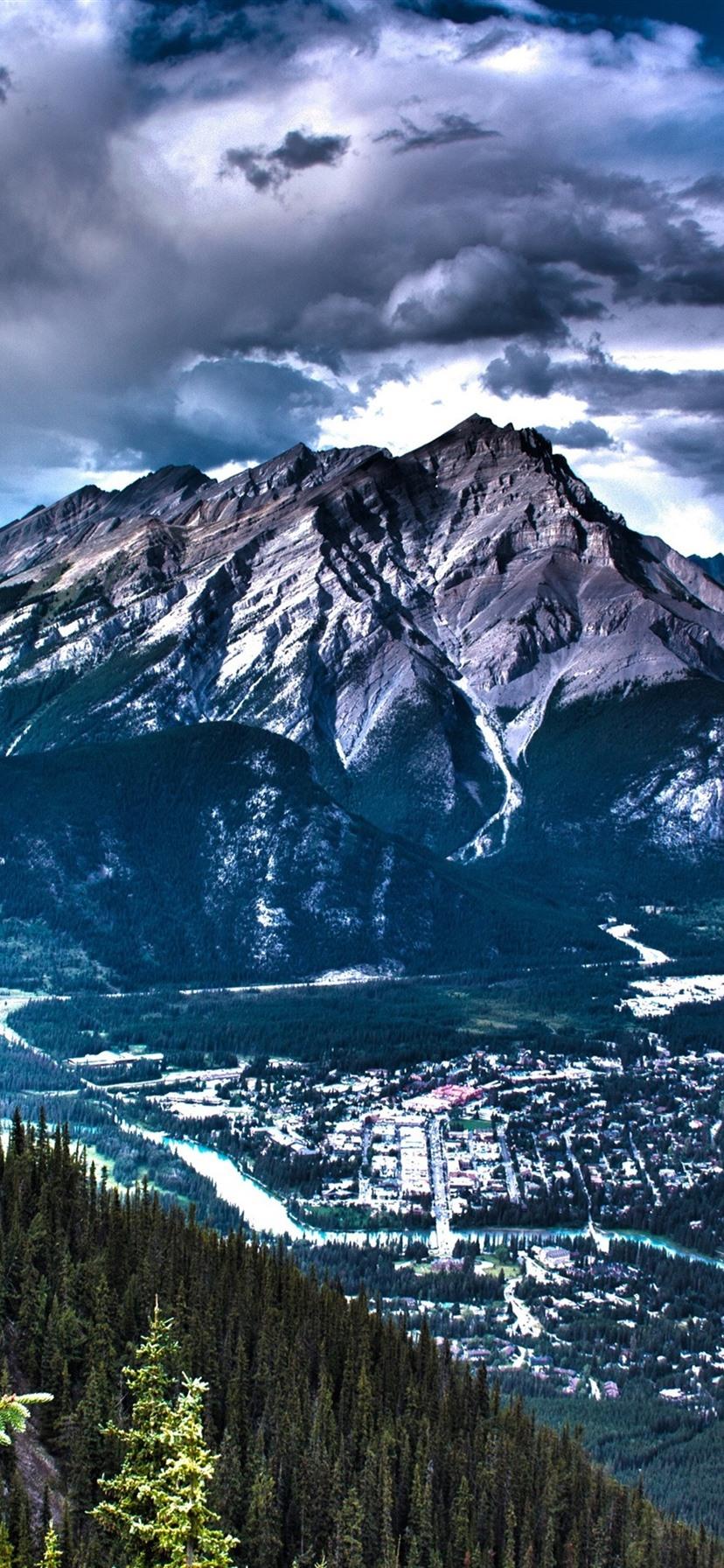 Wallpaper Canada Beautiful Nature Landscape Mountains