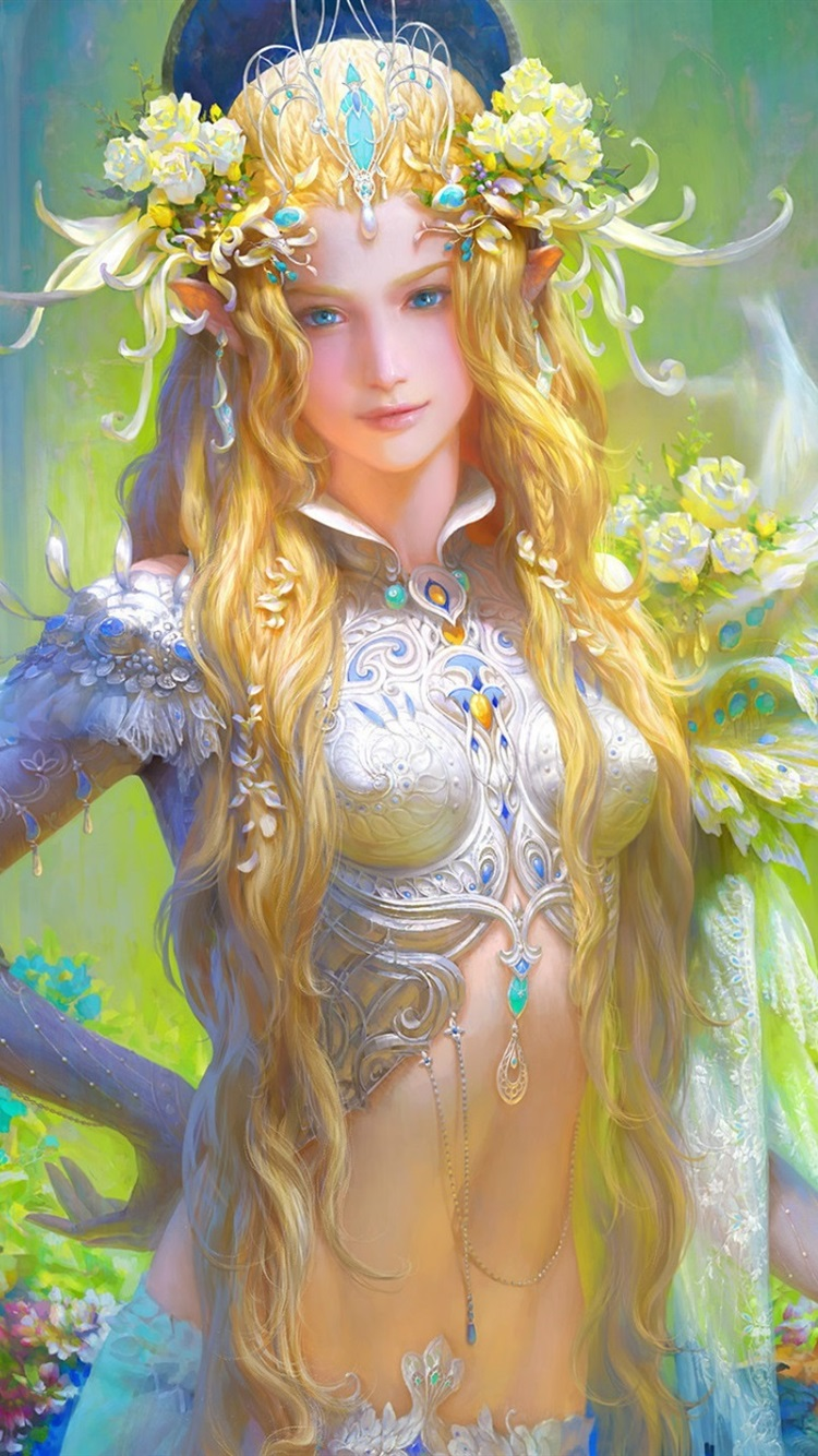 Apologise, fantasy art blonde girls perhaps